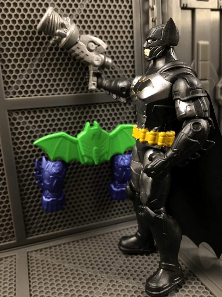 Spin Master Rebirth Tactical Batman 4 Inch Review
