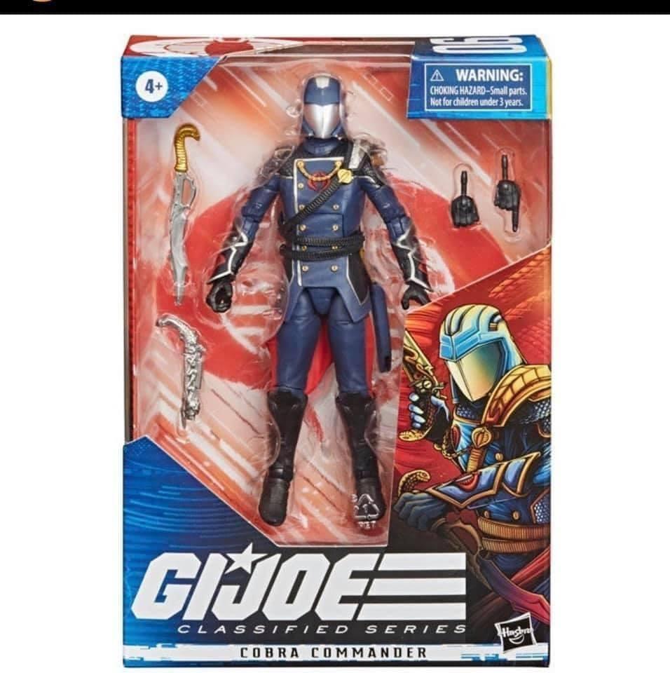 GI Joe Declassified Cobra Commander Revealed