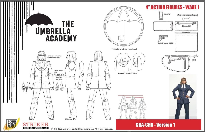 Boss Fight Umbrella Academy Cha-Cha