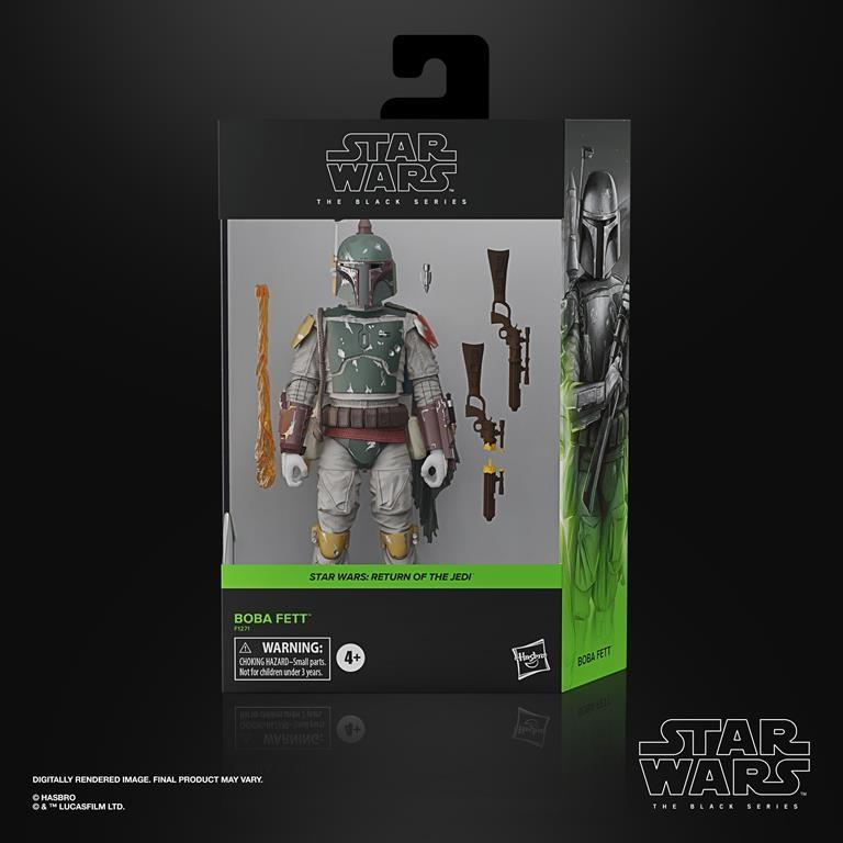 Star Wars Black Deluxe Boba Fett