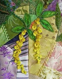 Laburnum in cast-on stitch by Allison Ann Aller