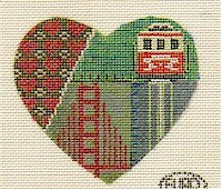 Image by Janet Perry, Nuts About Needlepoint