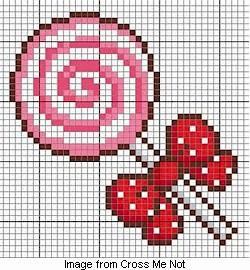 Free chart: Lollipop – Needle Work
