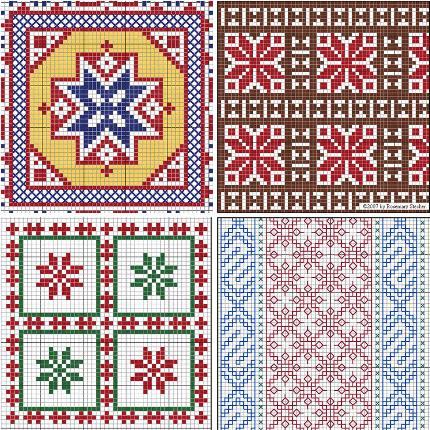 A Source For Free Middle Eastern Motifs Needle Work