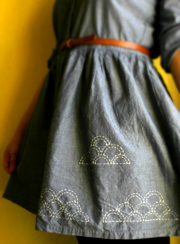 Freebie and Tutorial: Sashiko Embroidery