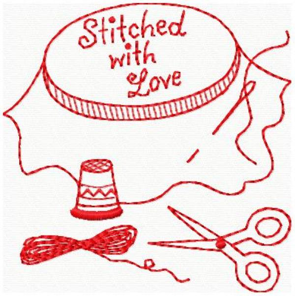 8 Simply Adorable Redwork Patterns – Needle Work
