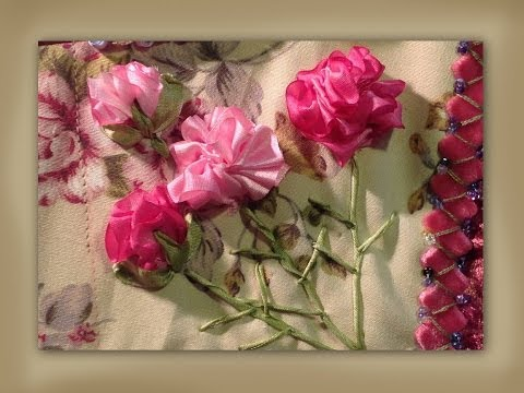 ribbon-embroidery-carnation-flowers