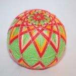Temari Ball – Christmas Star