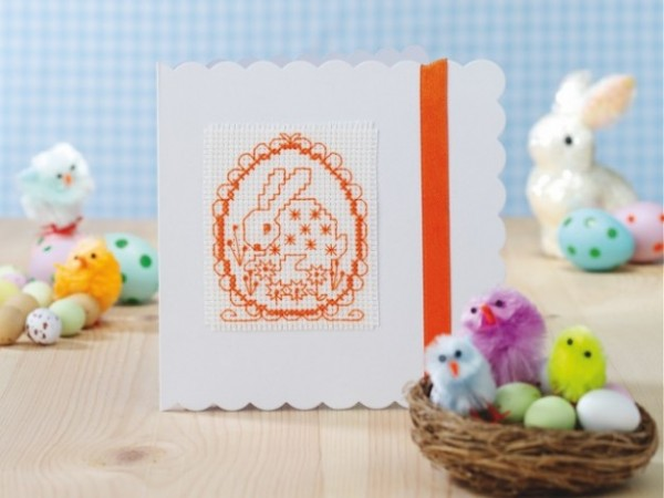 Hand stitched easter gift cards with pattern needle work are you wanting to add a little handmade love to your easter gifts forget the peeps and the handmade eggs and put all your creativity in to a stunningly negle Choice Image