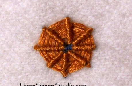 How To – Spider Web Stitch