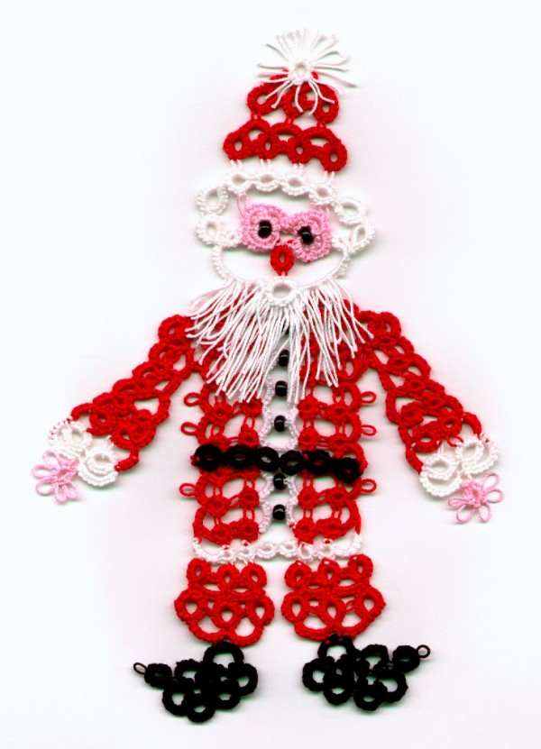 Tatting Pattern  ? Santa Claus