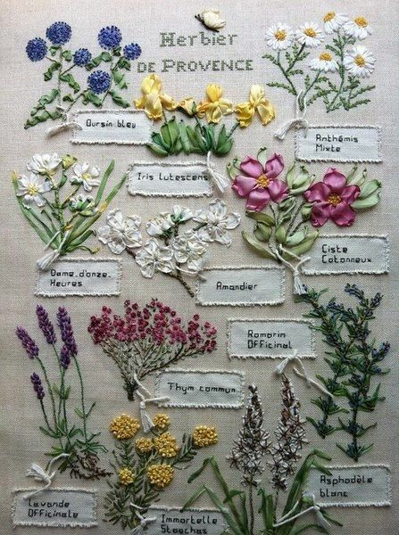 Embroidery Inspiration – Flower Garden