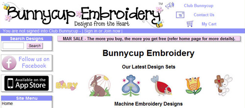 Adorable machine embroidery designs for children and adults