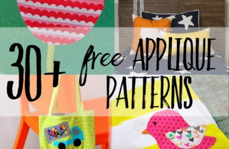 30 free applique patterns