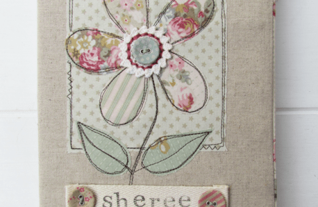 Free Motion Embroidery Art Journal