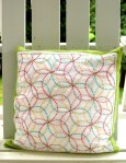 Sashiko Embroidery Cushion Tutorial