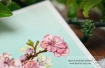 Free Tutorial. Cherry Blossom Stitched with a Ribbon Side Stitch
