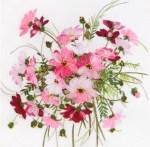 Ribbon Embroidery Kit - Lovely Flowers Breath of Tendernes