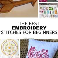 15 Embroidery Stitch Projects For Beginners