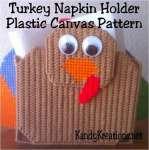 Thanksgiving Turkey Napkin Holder Free Plastic Canvas Pattern