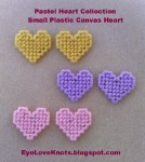 Plastic Canvas Hearts Pattern