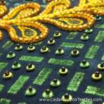 How to Make a Beaded Background on an Embroidery Canvas