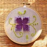 How to Do Kamal Kadai Embroidery