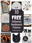 10 Free Halloween Hand Embroidery Patterns