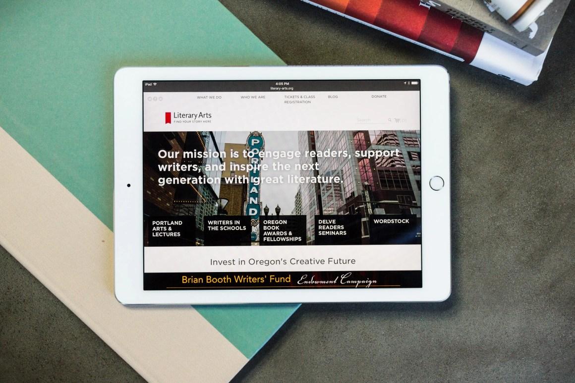 Literary Arts website