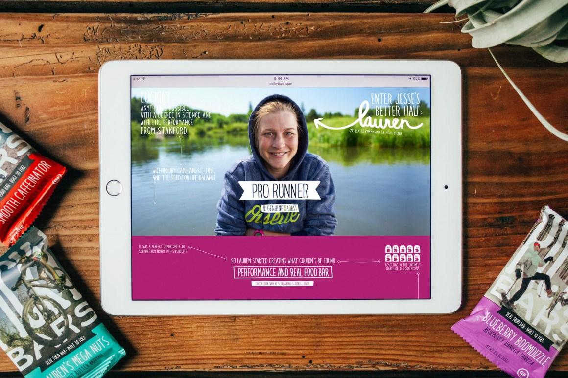 Picky Bars Story, iPad