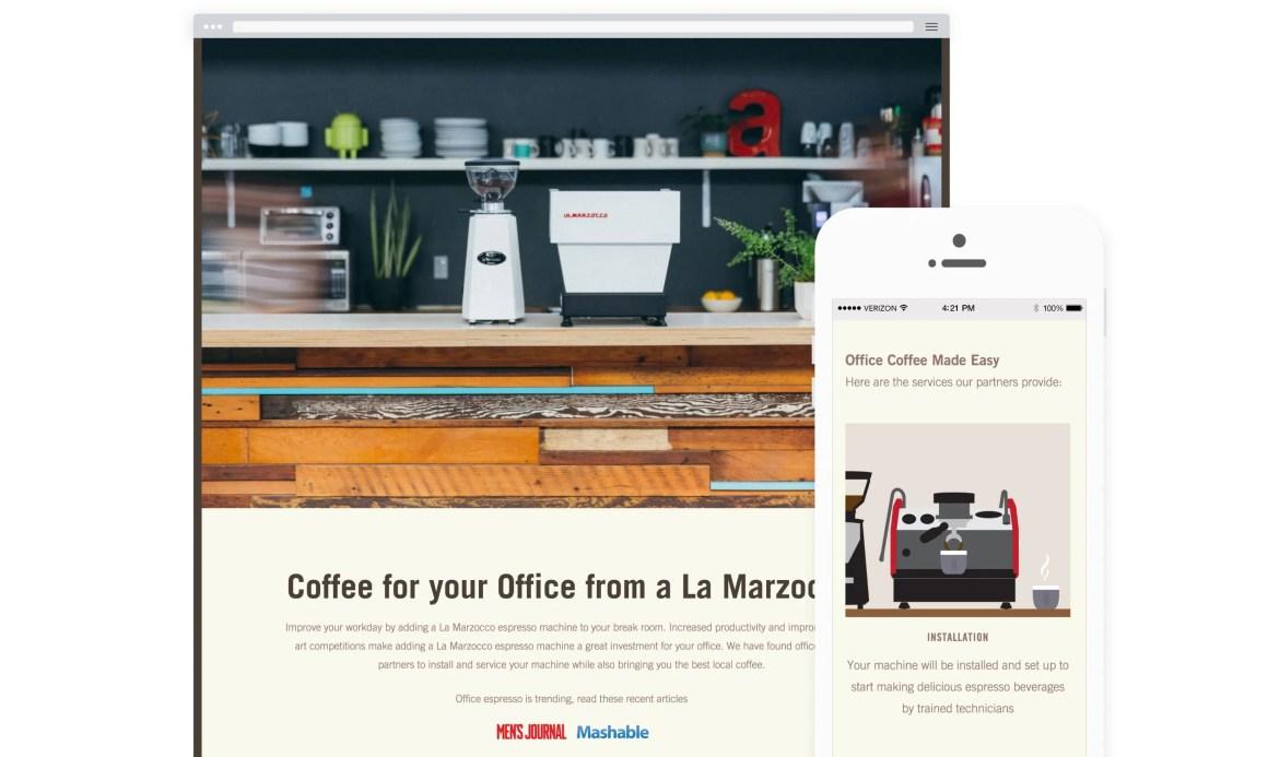 La Marzocco Office Coffee