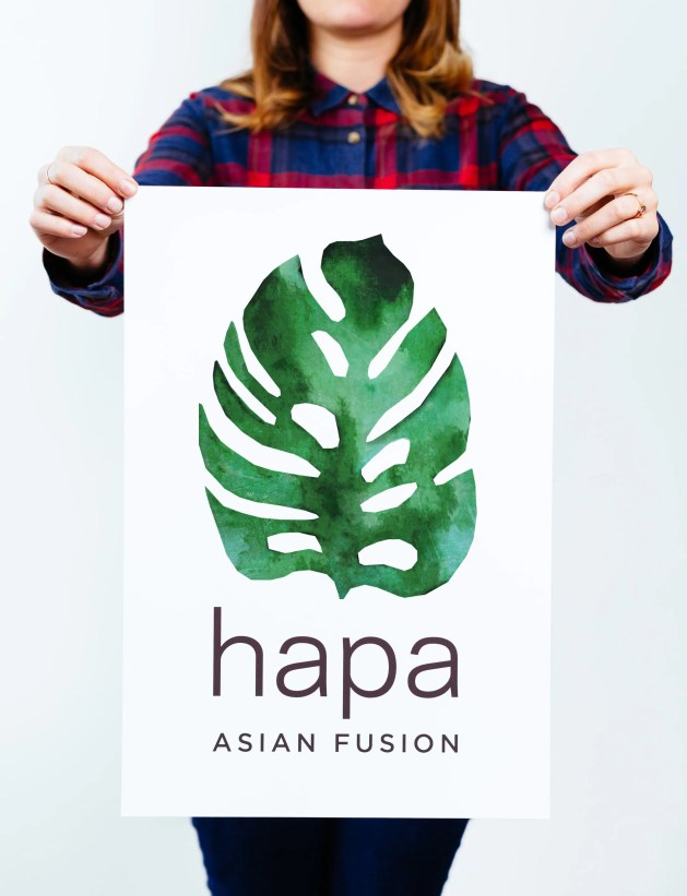Hapa logo by Needmore Designs