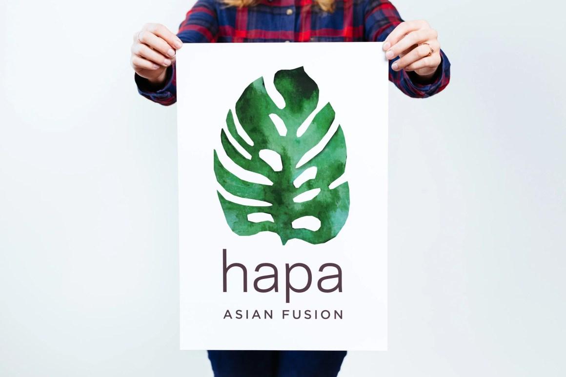 Hapa / Portland logo design by Needmore Designs