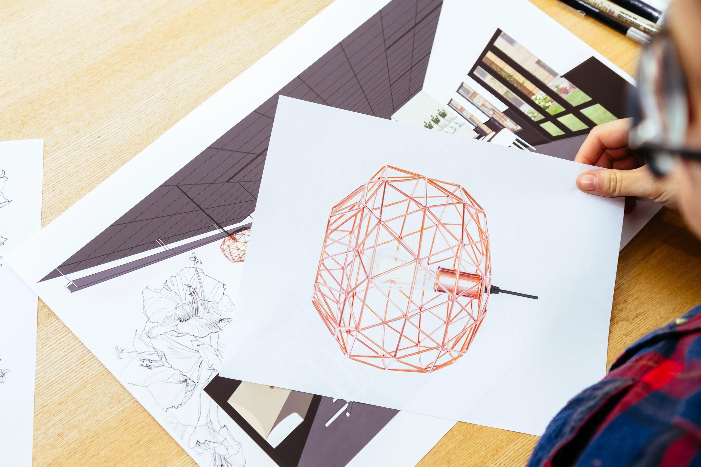 Hapa interior design drawings by Needmore Designs