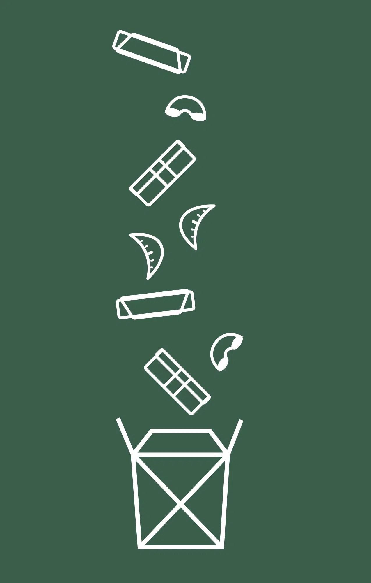 Hapa menu icons by Needmore Designs