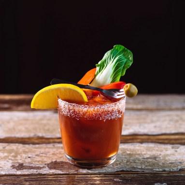 Saké Bloody Mary