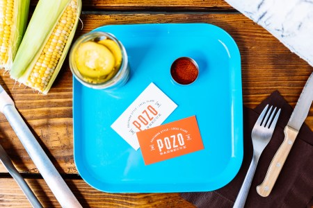 Pozo Barbecue business cards