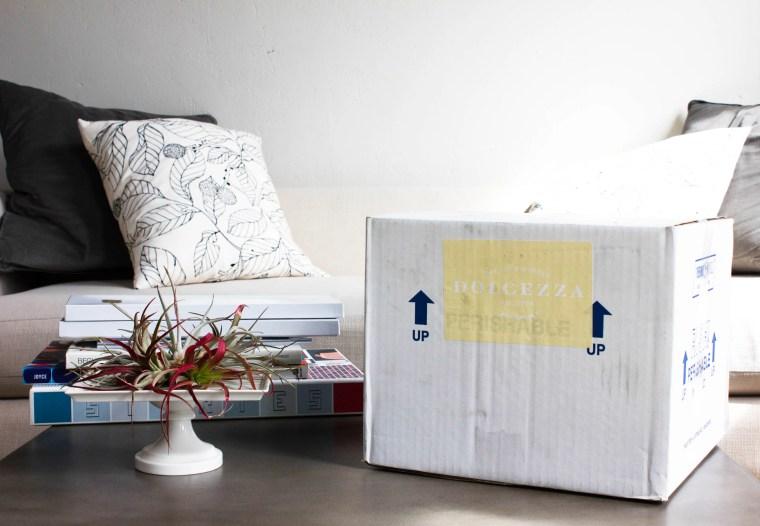 Dolcezza delivery box