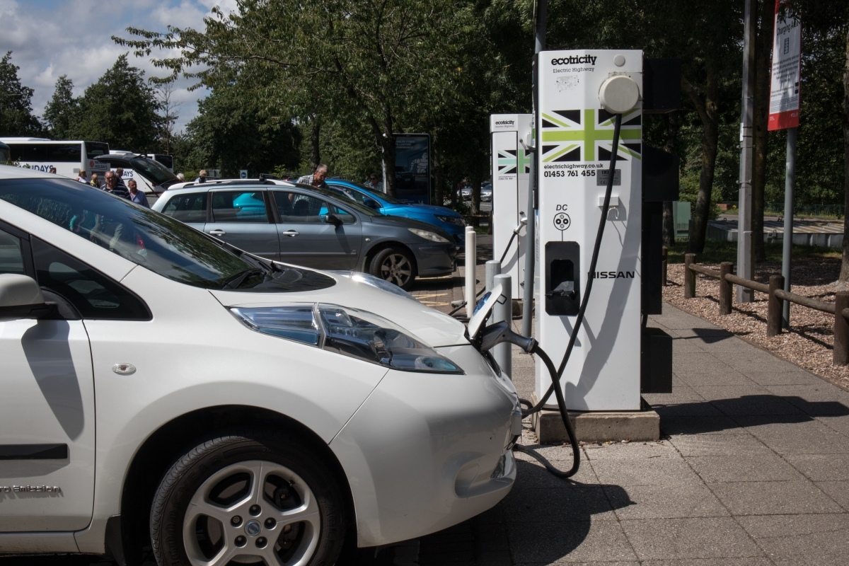 Ecotricity Charging Point