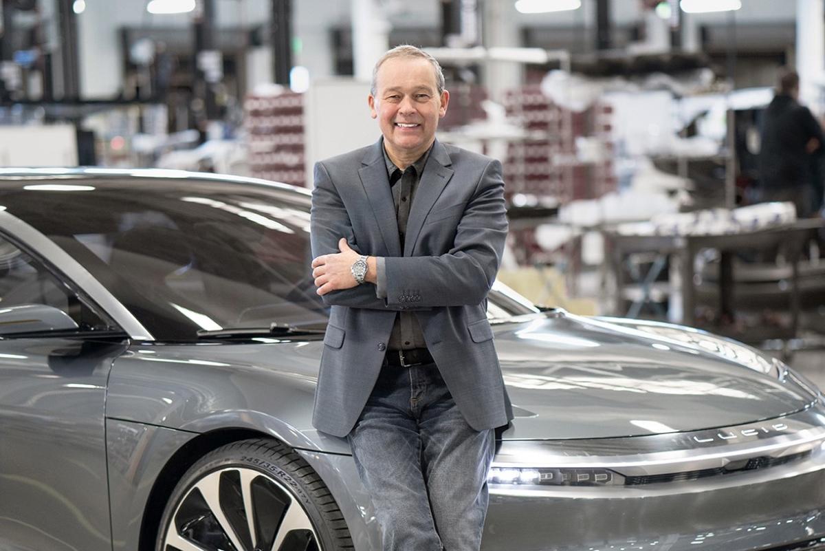 Lucid Motors CEO Peter Rawlinson