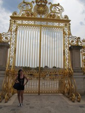 gates to the palace!