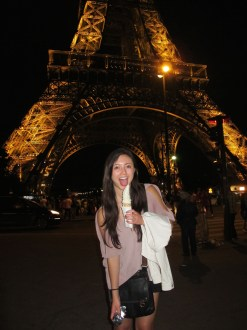Soft Serve at the Eiffel Tower