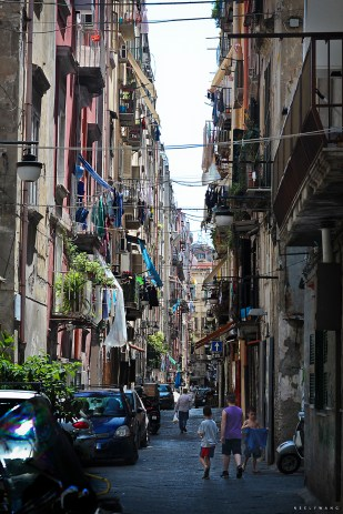 Alleys in Naples