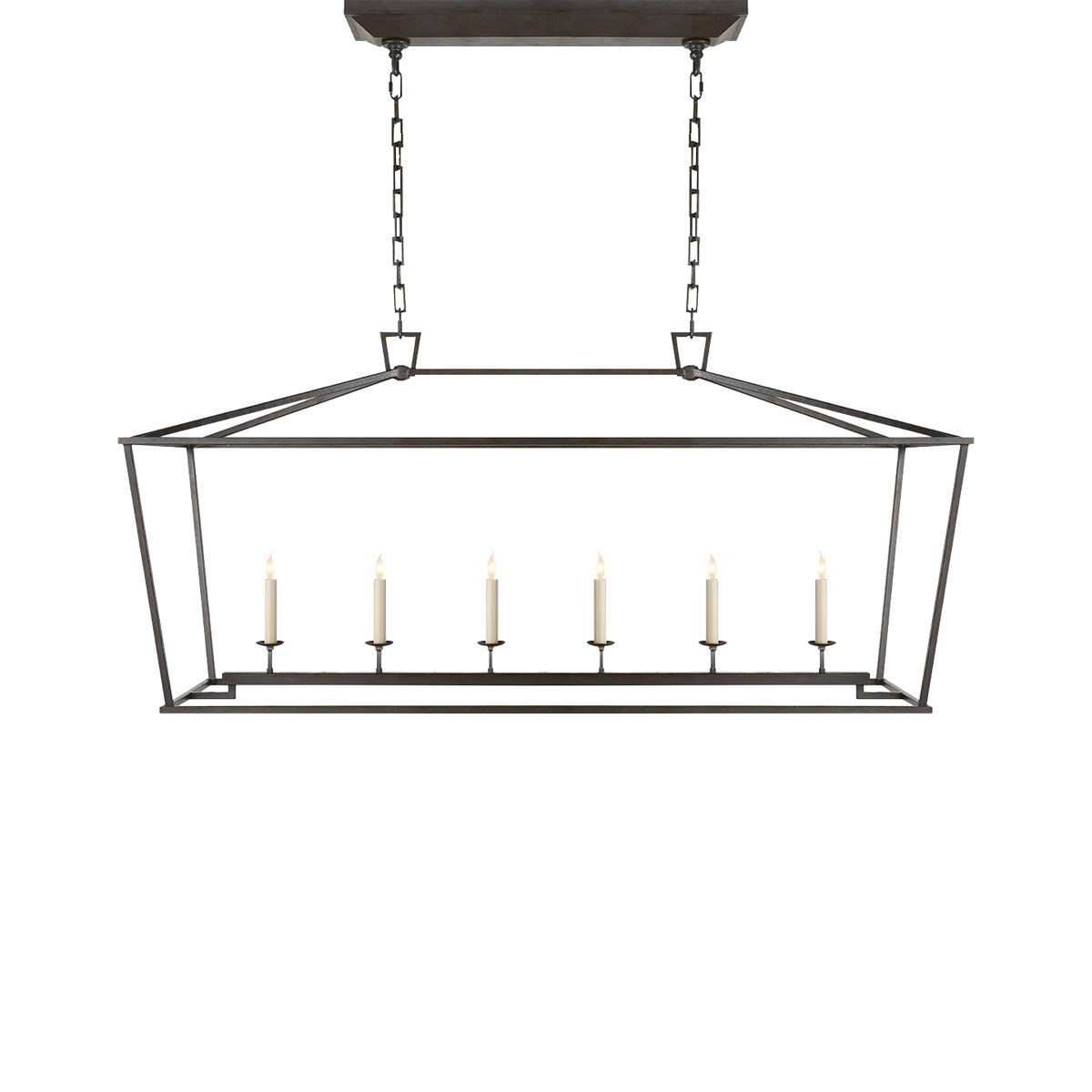 Visual Comfort Darlana Linear Pendant Ceiling Mounts