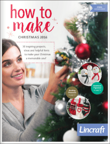 How to Make Christmas 2016 from Lincraft