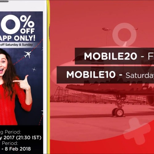 Mobile Promo Video | 20 percent off on domestic | AirAsia