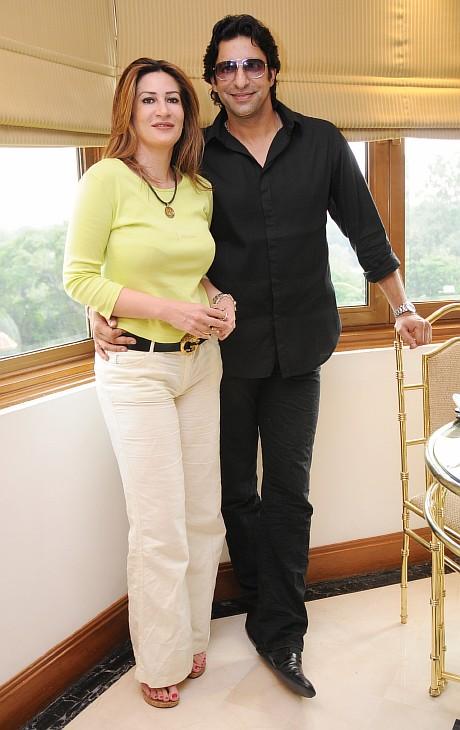 Wasim and Huma Akram