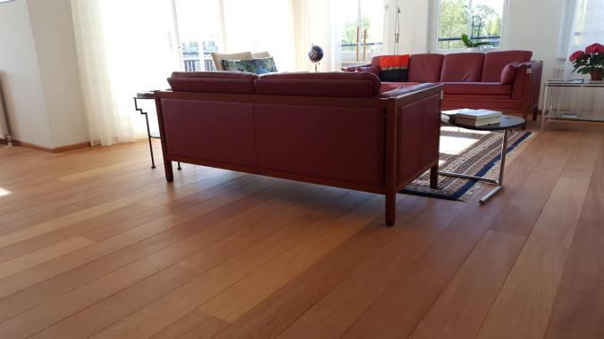 Voorkeur Het kleuren van een rode tropische houten vloer, kan dat DL54