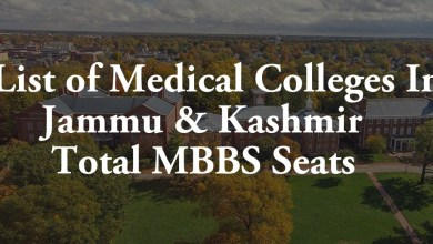 List of Medical Colleges In Jammu and Kashmir Total MBBS Seats