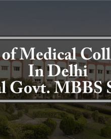 List of MBBS BDS Colleges In Delhi Total Govt. Private Seats
